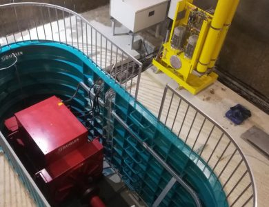 Small Hydro Power Plant BODORNA in Georgia