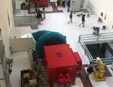 Puesta en marcha de la central hidroeléctrica NAM THA 4 de 17 MW en Vietnam